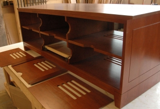 American-Cherry-Media-Console-backs-removed