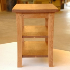 American-Cherry-2-Shelf-End-Table-end-view