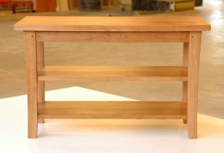 American-Cherry-2-Shelf-End-Table-side-view