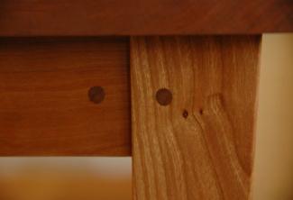 American Cherry 2 Shelf End Table
