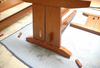 American-Cherry-Trestle-Table-Insert-trestle-through-end-mortise