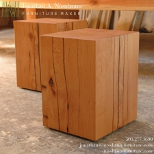 Large-Fir-Beam-Stools-End-Tables