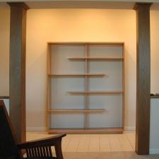 American-Cherry-Large-Open-Back-Shelf-#2