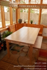 Big-Leaf-Maple-Dining-Table-Bench-at-house