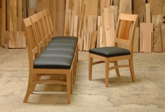 Pacific-Madrone-Leather-dining-chiars