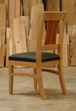 Pacific-Madrone-Leather-dining-chair-back-angled-view