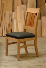 Pacific-Madrone-Leather-dining-chair-front-angled-view