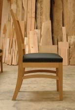 Pacific-Madrone-Leather-dining-chair-side-view