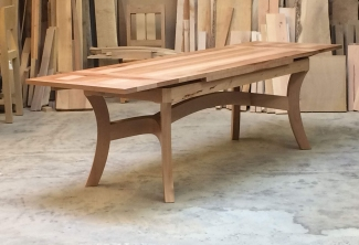 Pacific-Madrone-Dutch-Pull-Out-Extension-Table-angle-leaves-extended