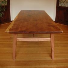 Mid-Century-Modern-Redwood-Table-end
