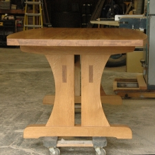 White-Oak-Conference-Table-end-view
