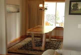 Oregon-White-Oak-Dining-Table