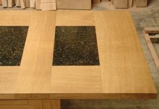 Oregon-White-Oak-Table-with-Leaf