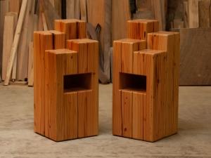 reclaimed-doug-fir-end-tables