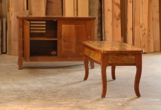 Spalted-Big-Leaf-Maple-and-Western-Walnut-Media-Console-Coffee-Table