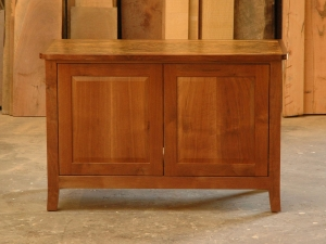 Spalted-Maple-and-Western-Walnut-Media-Console