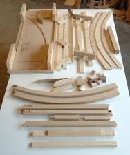 Twist-Western-Walnut-and-bead-blasted-aluminum-entry-table-templates-jigs