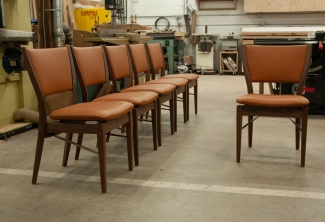 Six-Western-Walnut-and-Leather-Finn-Juhl-Inspired-Dining-Chairs-front