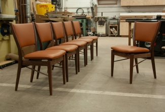 Six-Western-Walnut-and-Leather-Finn-Juhl-Inspired-Dining-Chairs