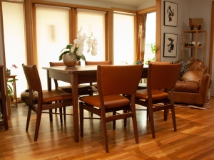 Western-Walnut-Finn-Juhl-inspired-extension-Table-Chairs-low