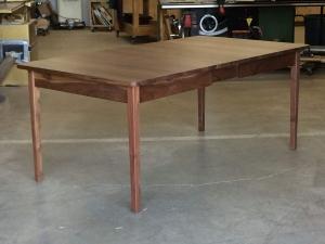 Western-Walnut-Finn-Juhl-inspired-extension-Table-extended