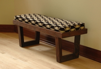 Western-Walnut-Upholstered-Entry-Bench