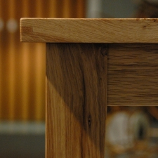 Oregon-White-Oak-Leaf-Inlay-Table-Keyed-Miter