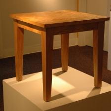 Oregon-White-Oak-Leaf-Inlay-Table