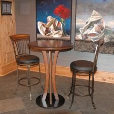 Bar Height Wine Cellar Table